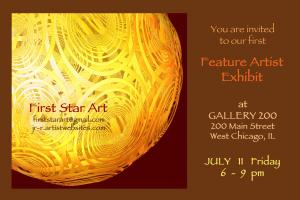 Featured Artist at Gallery 200 for July 2014